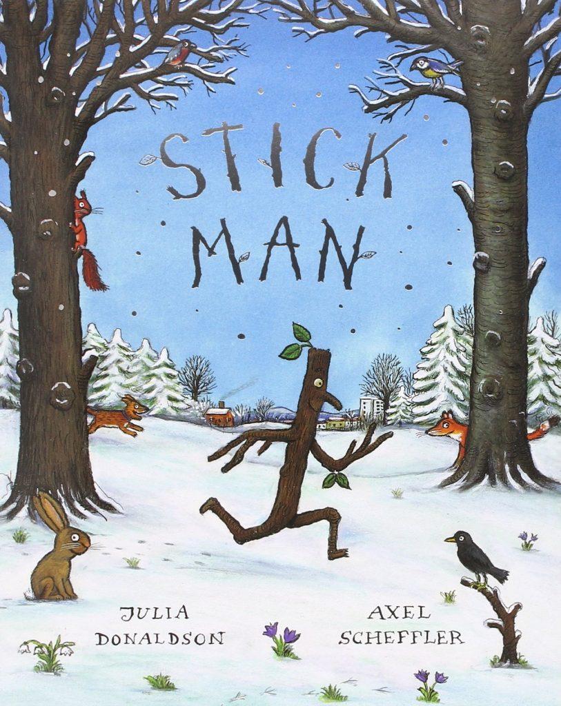 Capitanes Fantasticos Stick Man Libro Cover