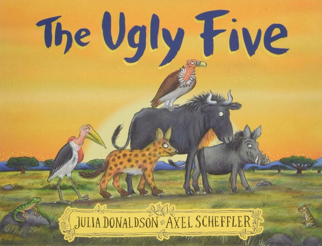 Capitanes Fantasticos The Ugly Five Cover Libro