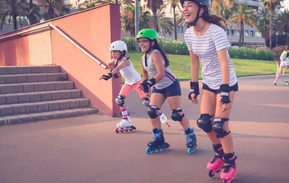 Capitanes Fantasticos Beneficios del Patinaje Niños Es Divertido