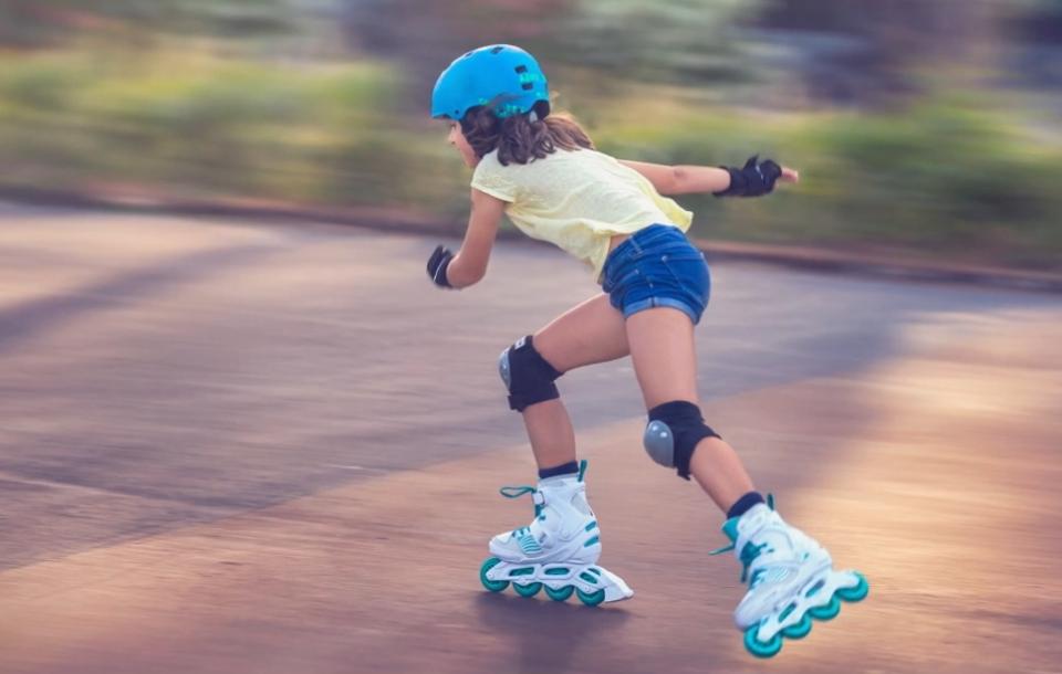 Capitanes Fantasticos Beneficios del Patinaje Niños Velocidad