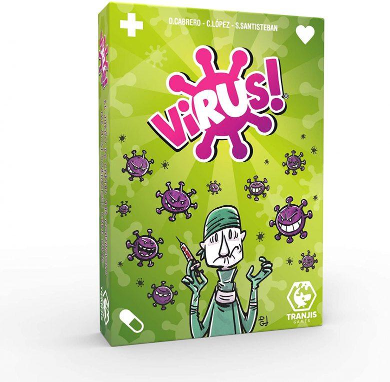 Capitanes Fantasticos Juegos para niños familia Virus Cartas packaging
